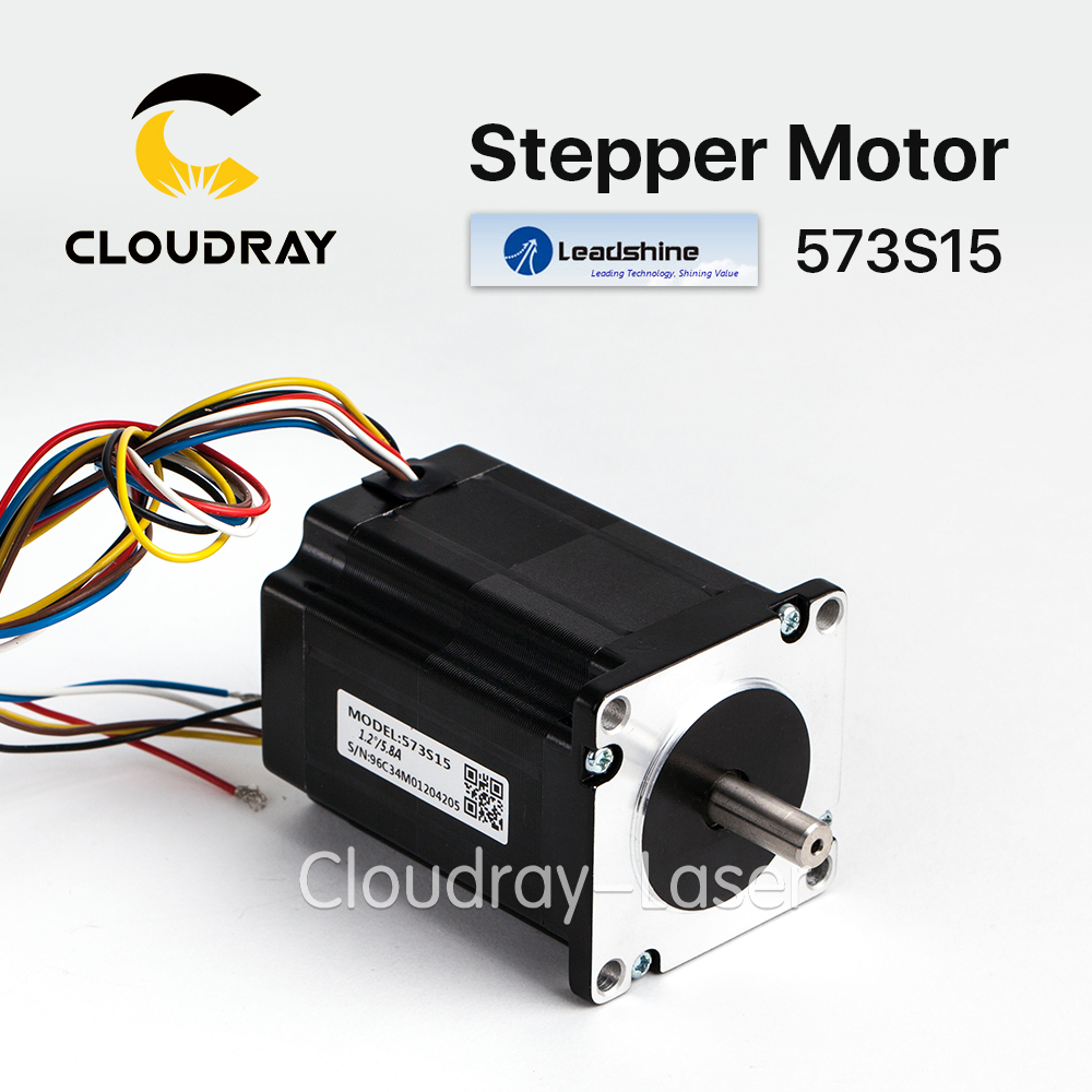 Cloudray leadshine 3 phase stepper motor 573s15 for nema23 for 3 phase stepper motor
