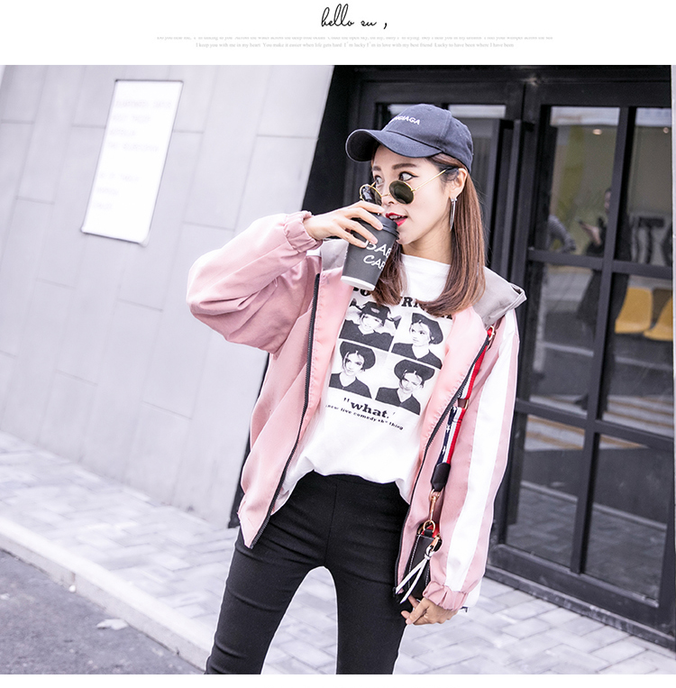 2019 Autumn Jacket Womens Streetwear Patchwork Hooded Totoro Jackets Kawaii Basic Coats harajuku Outerwear chaqueta mujer 53