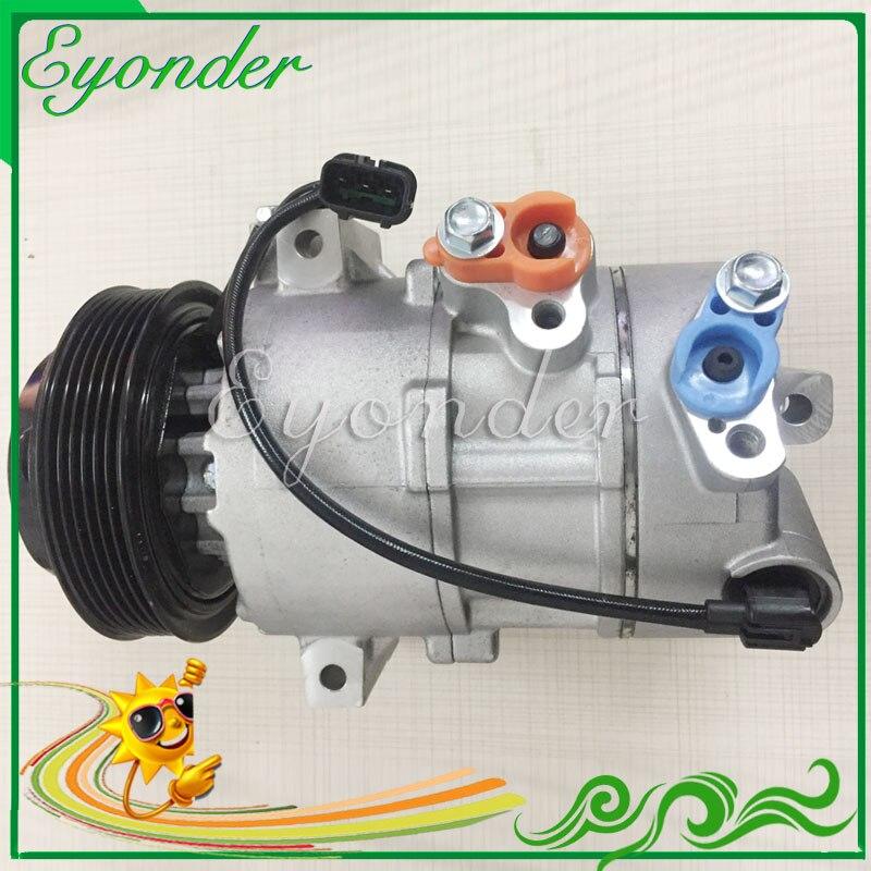 AC Air Conditioning Compressor DOOWON DVE16 for Hyundai IX35 2 0L CRDi 4WD Tucson Kia Sportage