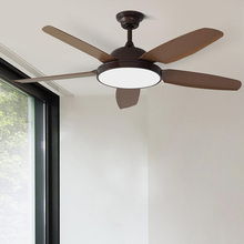 52 Inch Vintage Ceiling Fans With Light Bedroom Home Fan 220v Ceiling Fan with remote control 220V ventilador de teto цена и фото