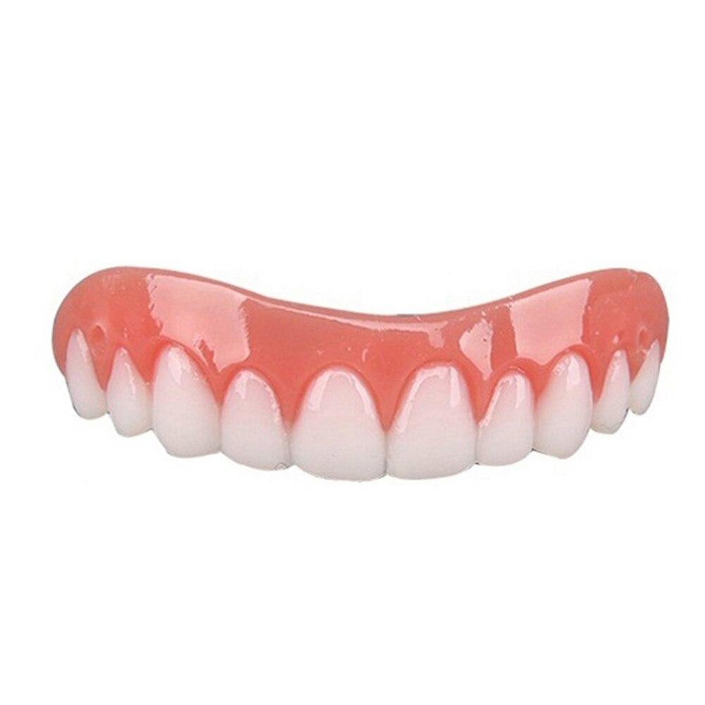 1Pc Cosmetic Teeth Snap On Secure Smile Veneers Dental False Natural  4