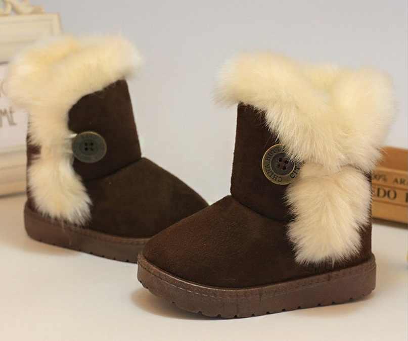 Winter Rubber Kinderen Laarzen Nieuwe 2019 Mode Kinderen Schoenen Voor Meisjes Kudde Lederen Kids Sneakers Sapato Infantil Kids Laarzen