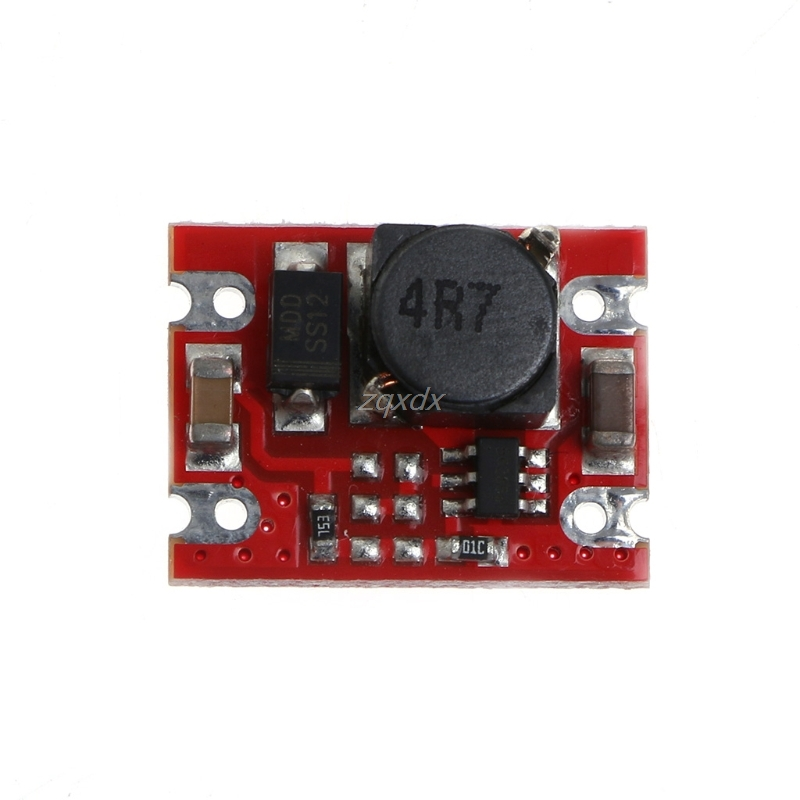 DC-DC 2V-5V to 5V Step Up Boost Power Supply Module Voltage Converter Board 2A Fixed Output High-Current For Dry/lithium Battery