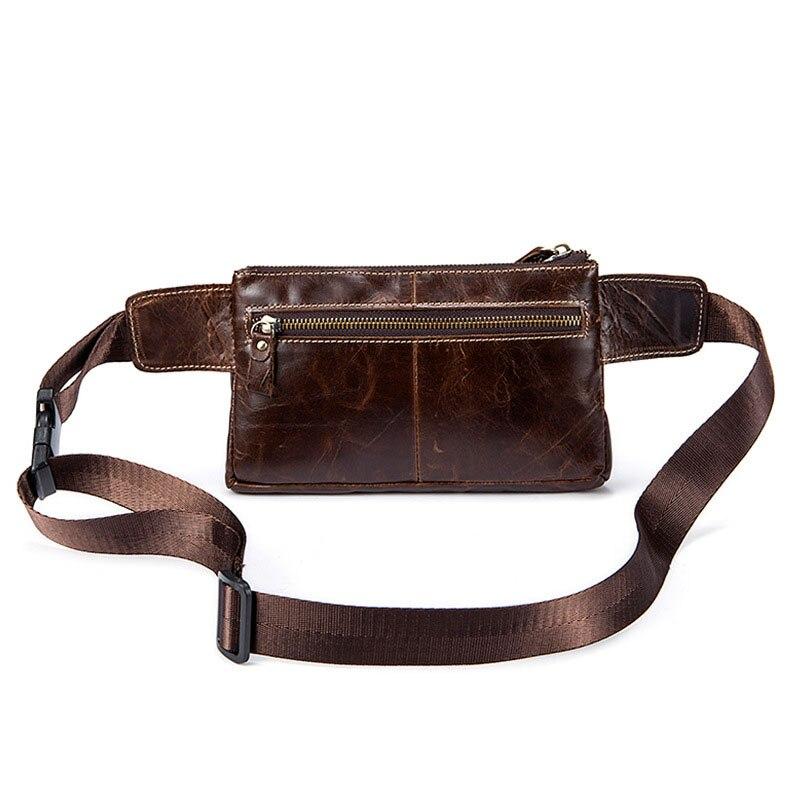 100% Wahr Echt Leder Tasche Männer Echtes Leder Taille Packs Fanny-pack Gürtel Tasche Handy Tasche Taschen Reise Taille Pack Männlichen Kleine Taille Tasche Diversifiziert In Der Verpackung