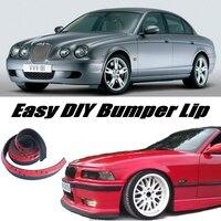 Bumper Lip Deflector Lips For Jaguar S Type S Type Front Spoiler Skirt For Car Tuning / Body Kit / Strip