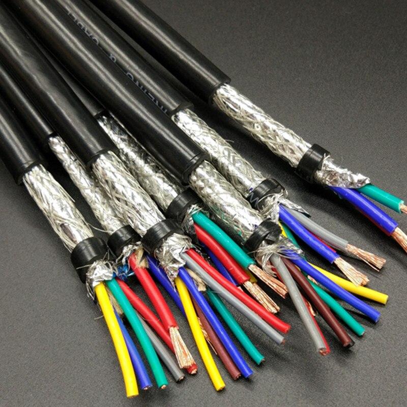 1 mt Hohe qualität 1,5 ^ mm2 * 2 kerne Abgeschirmtes Kabel für ...