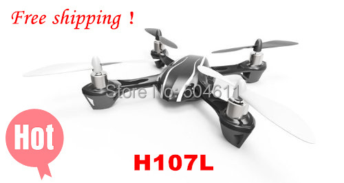 100% New Brand Hubsan X4 H107L GYRO 2.4G 4CH 6-Axis Mini RC Helicopter Radio Control UFO Quadcopter Quad Copter RTF