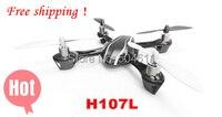 100% nieuwe merk hubsan x4 h107l gyro 2.4g 4CH 6-Axis mini rc helicopter radio control ufo quadcopter quad copter rtf