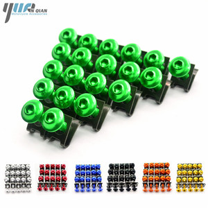 Image 1 - 20 PCS Motorcycle M6 Fairing Bolts Screws For Triumph tiger 800/xc BMW S1000RR S1000R K1200sS F650 F800gs 2013 2014 2015 2016