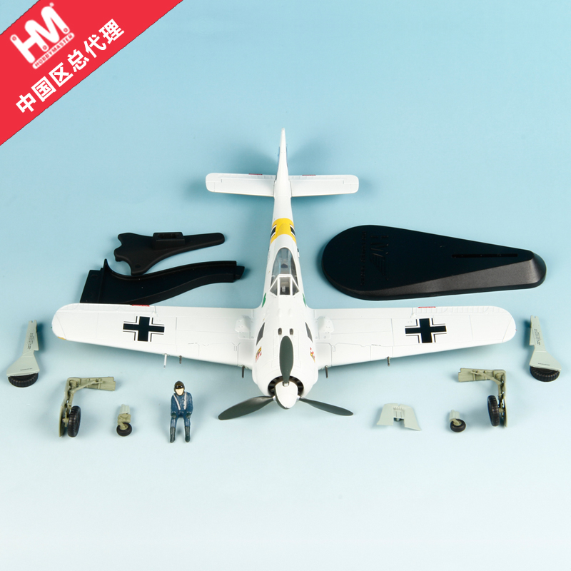 HM HA7421 FW 190A-4 JG. 54 united 1 1/48 alloy model plane Hobby Master цена