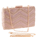Sequined diamonds women evening bags day clutches lady handbags silver/gold/black messenger chain shoulder bags