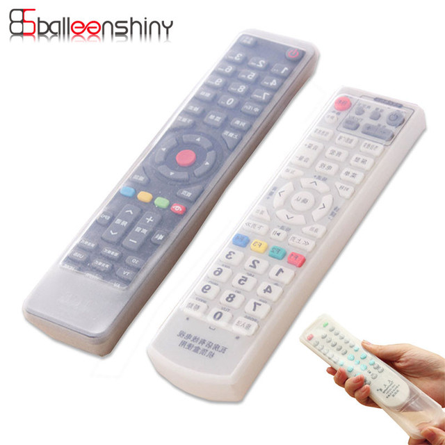 1pcs Silicone Video TV Air Condition Remote Controler Protective Cases Cover Waterproof Dust Protector Pouch Storage Bags