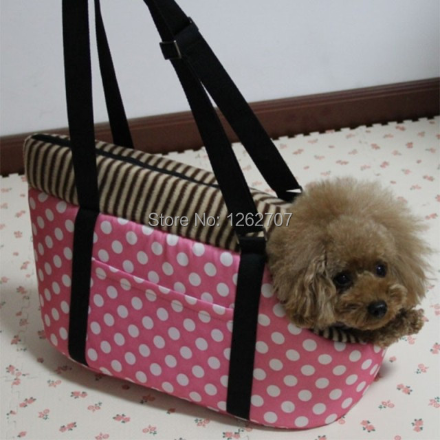 Free shipping Portable Cotton Dog Bag Portable Dog Totes Crate Carrier House Kennel Pet Travel Bag Fashion Pet Bag Carrier