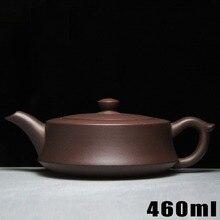 Neue Ankunft Teekanne Yixing Teekannen 460 ml [Bouns 3 tassen Tee] lila Ton Keramik Chinesischen Handarbeit Gesetzt Wasserkocher Porzellan hochwertigen