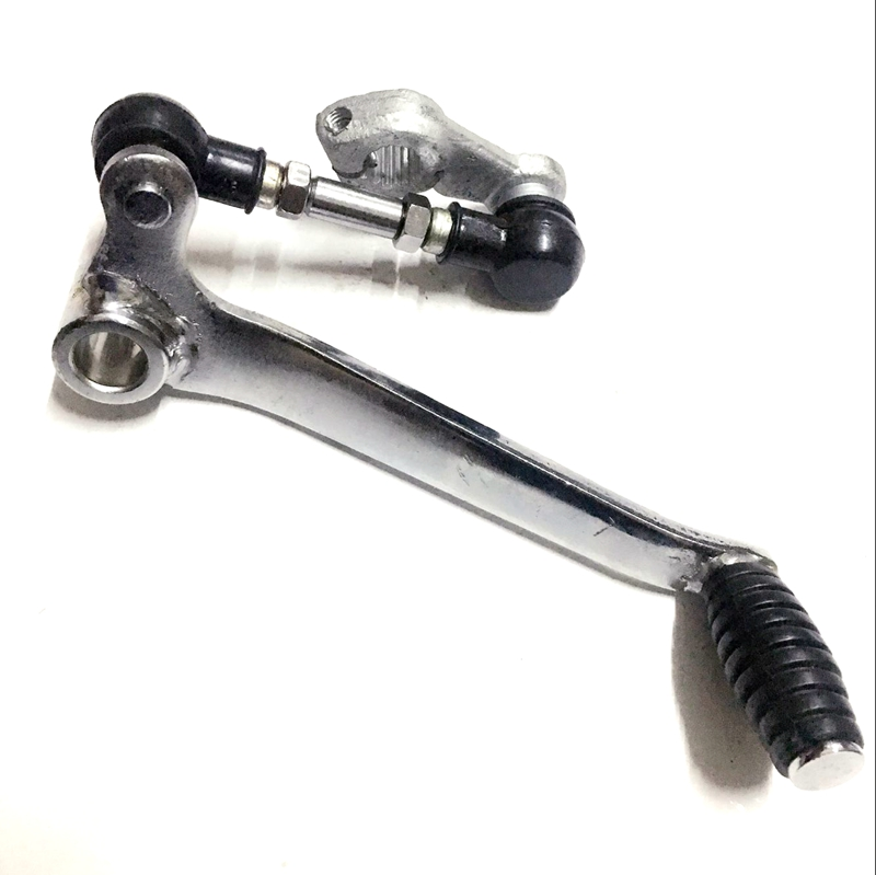 Free Shipping Motorcycle GS125 Gear Shift Shaft Start Lever For Suzuki 125cc GS 125 Linked Hanging Lever Spare Parts