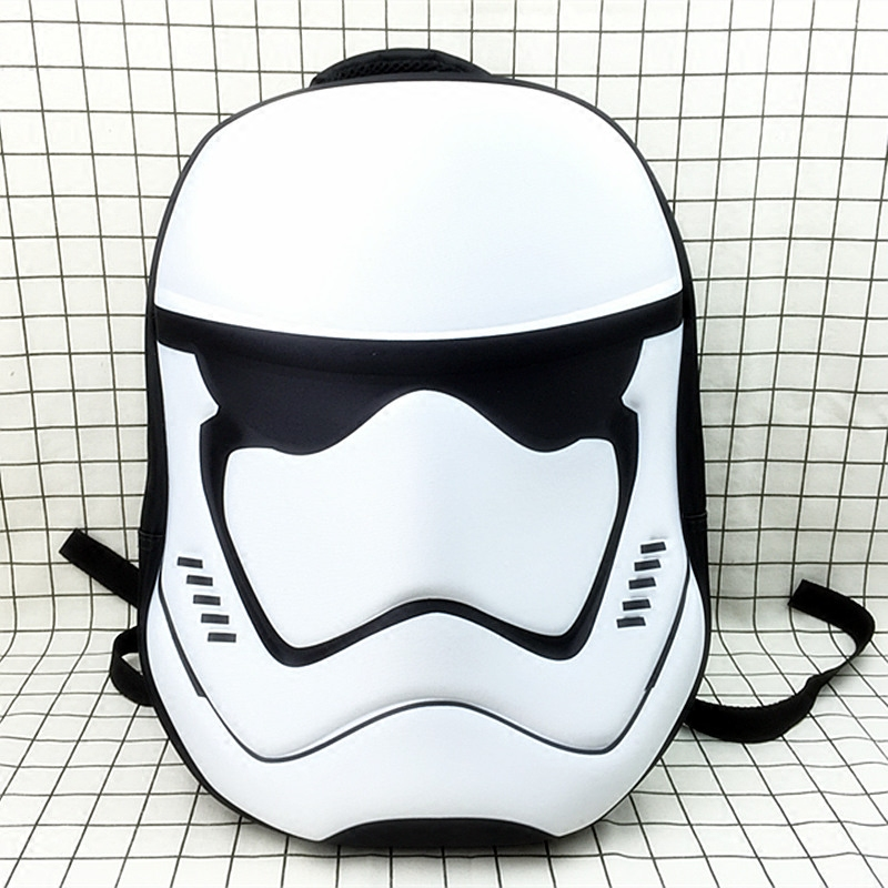 New 3d Star Wars Backpack Darth Vader Backpacks Teenage Backpacks For Girls School Bags Laptop Backpack Male