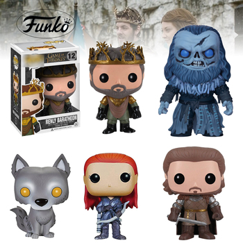 Action Funko Giant Wight Figure Toys Collectable Gift model Game Of Thrones Renly Baratheon Ygritte Robb Stark Grey Wind Toy BHO