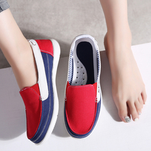 TKN 2019 spring women sneakers canvas shoes tenis slip on loafers ladies flats shoes woman chaussure femme oxfords shoes 987