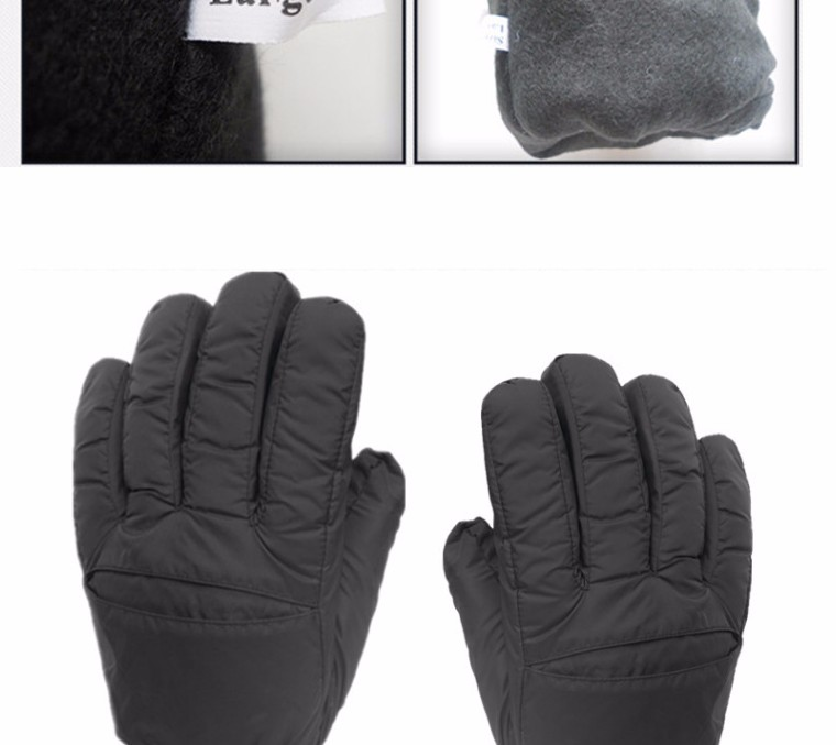 2017 Top Quality New Brand Men's Ski Gloves Snowboard Snowmobile Motorcycle Riding Winter Gloves Windproof Waterproof Snow Glove 10