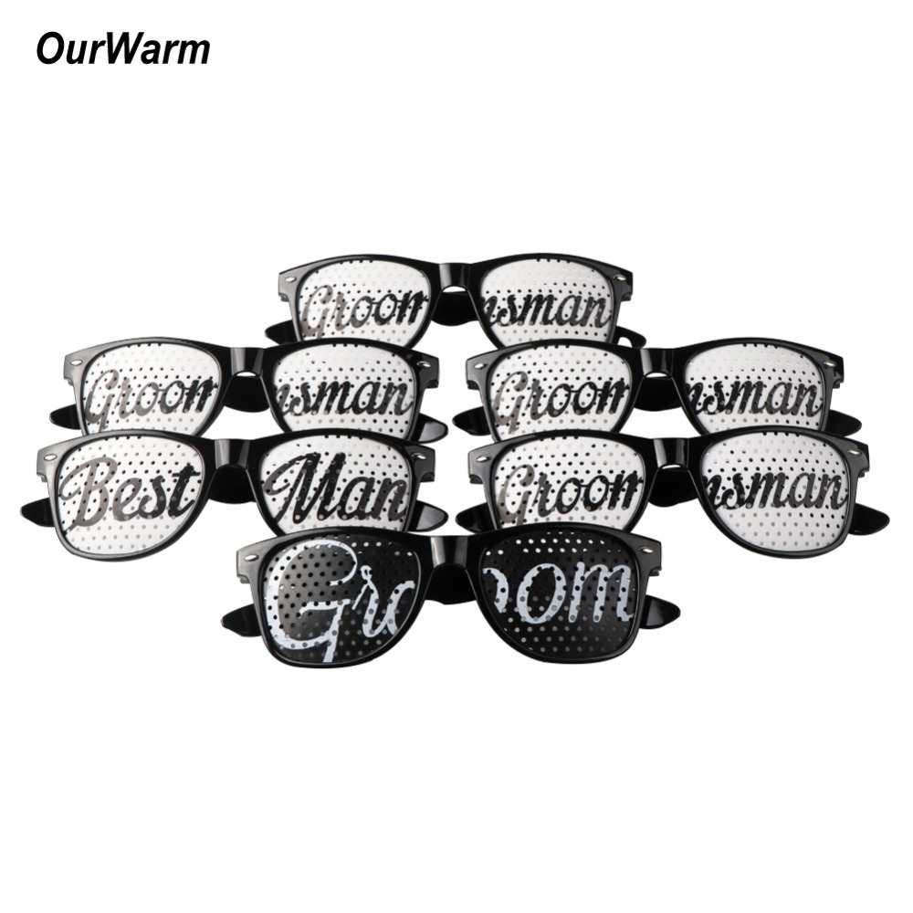 98b7867de49 Detail Feedback Questions about OurWarm 12pcs Personalized Wedding  Sunglasses Bridal Party Favors Wedding Shower DIY Decoration Groom Party  Photo Booth Prop ...