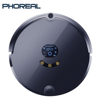 PhoReal FR S Planned Route aspiradora Robot Vacuum Cleaner wifi Robotic Vacuum Cleaner Auto Rechargeable aspirapolvere For Home