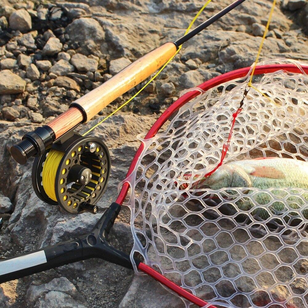 Ensemble de canne à pêche à la mouche Sougayilang 2.7M canne à mouche et moulinet de pêche à la mouche 2 couleurs Combo et ensemble cadeau matériel de pêche - 6