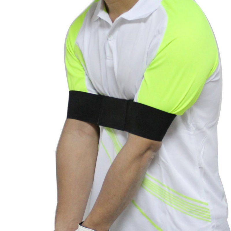 Image 2 - Aids Golf Practice Arm Posture Motion Black Correction Belt Adjustment Posture Belt Golf Training-in Golf Training Aids from Sports & Entertainment