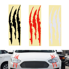 40cm*12cm Car Sticker Reflective Monster Sticker Scratch Stripe Claw Marks 3 Colors Car-styling Car-styling Exterior Accessories
