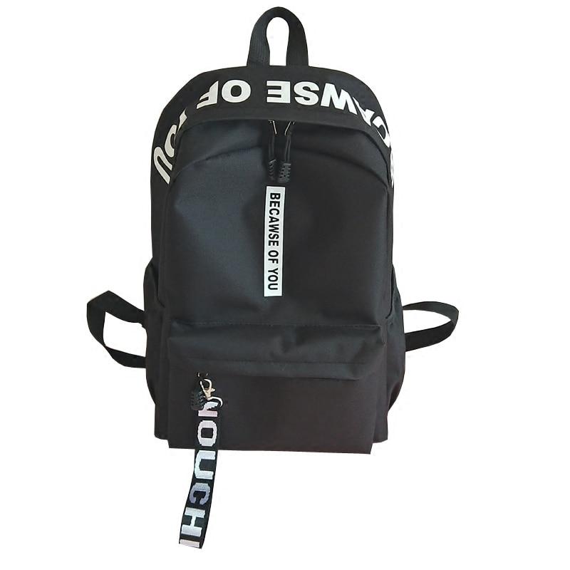 2018 Amasie unisex backpack book bag causal daily bag pack sac a dos Nylon letter printing men backpack EGT9005 цены