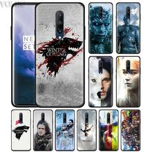 game of throne art Phone Case for Oneplus 7 7Pro 6 6T Oneplus 7 Pro 6T Black Silicone Soft Case Cover