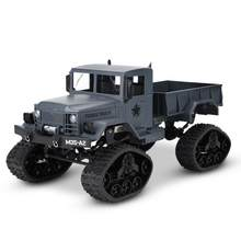 New Simulation Off-Road RC Military Truck Four Wheel Drive 24GH RC Crawler Car Remote Control Model Toys Hot Sale RC Crawler Car(China)