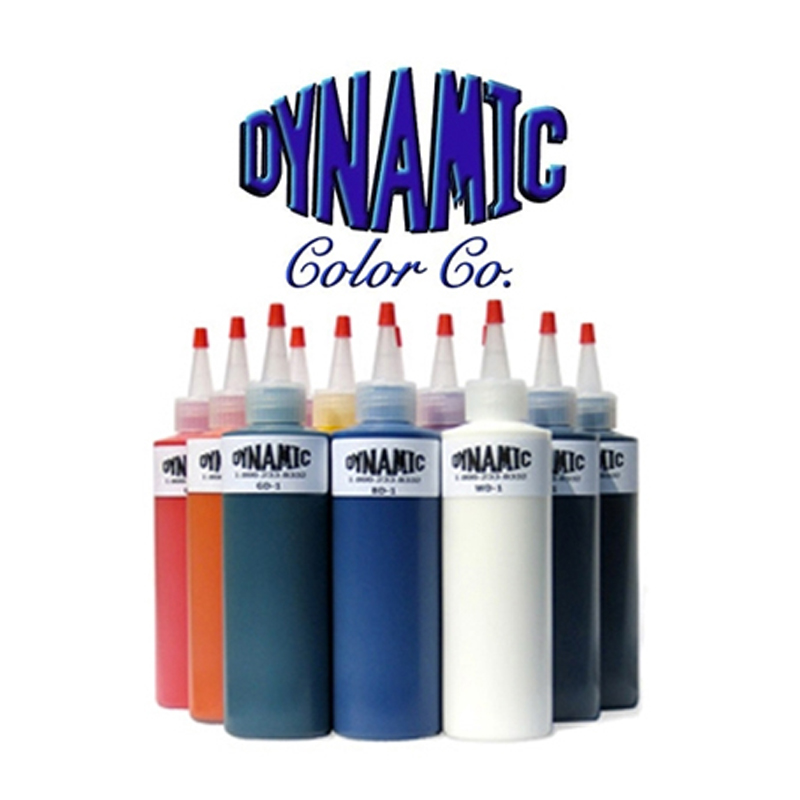 Dynamic Color Tattoo Ink  8oz / 330g Permanent Tattoo Pigment Professional Body Paint Ink Tattoo Beauty Tools