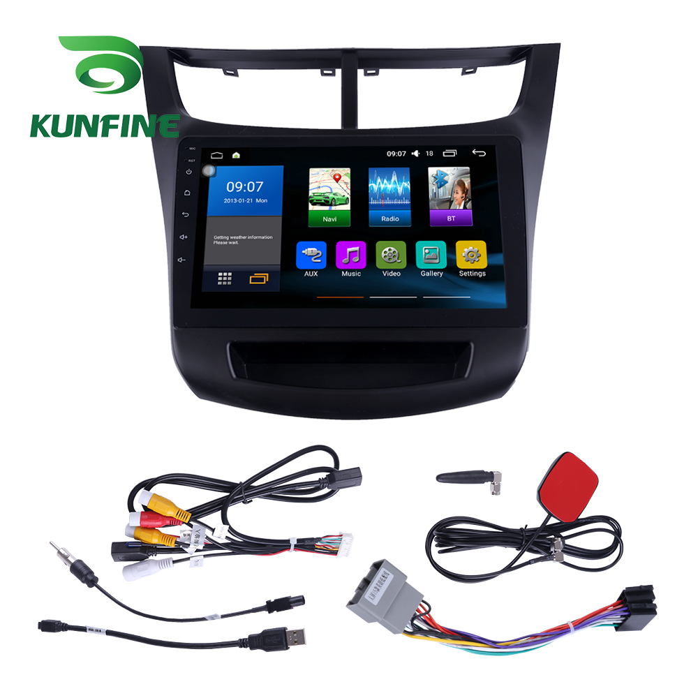 Octa Core 1024*600 Android 7.1 Car DVD GPS Navigation Player Deckless Car Stereo For Chevrolet SAIL 2015 Radio Headunit WIFI octa core 1024 600 android 7 1 car dvd gps navigation player deckless car stereo for toyota corolla 2007 2013 radio headunit