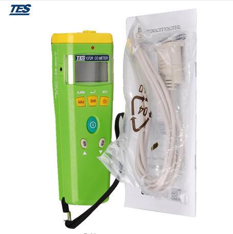 TES TES-1372R Carbon Monoxide Meter / Portable CO Gas Detector 0-999 TES1372R