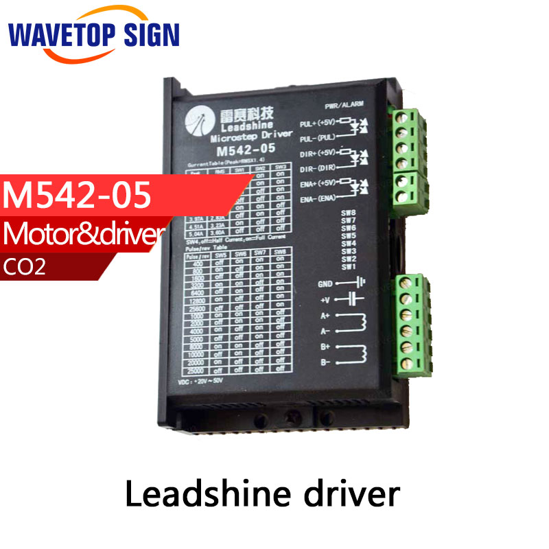 купить free shipping Original Leadshine M542-05 Twophase stepper motor driver for laser and CNC machines в интернет-магазине