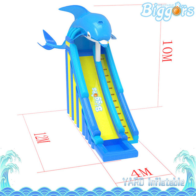 Free Sea Shipping Giant Tobogan Inflable Inflatable Kids Toys Water Slides For Sale