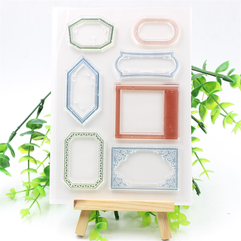YPP CRAFT Labels Transparent Clear Silicone Stamps for DIY Scrapbooking/Card Making/Kids Fun Decoration Supplies