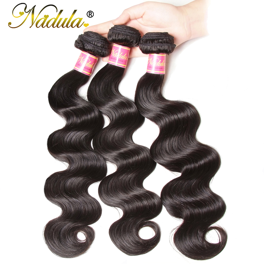 Nadula Hair 13*4 Ear to Ear Lace Frontal With Bundles  Body Wave With Closure 8-30inch  s 3