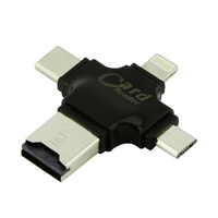 CHUYI CF Cardreader Card Reader Lightning Type C USB Micro USB Interface External Multi Function Card