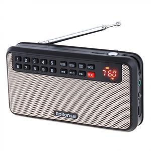 Image 5 - Rolton T60 المحمولة TF بطاقة USB صغير FM سماعات راديو صغيرة تعمل لاسلكيًا مع شاشة LED مضخم صوت مشغل موسيقى MP3/مصباح الشعلة/التحقق من المال