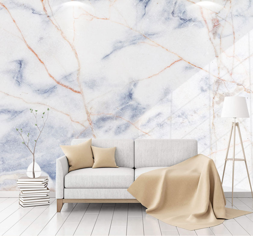 Large Jazz White Marble Wallpaper Waterproof 3d Wall Murals for Living Room Sofa Background Marble Wall paper 3d Photo Murals shinehome sunflower bloom retro wallpaper for 3d rooms walls wallpapers for 3 d living room home wall paper murals mural roll