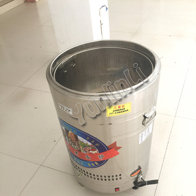 Коммерческий Электрический лапши Пособия по кулинарии ковш 6000 Вт 50L лапши Плита Нержавеющаясталь Noodel/пельмени Плита EL-ZML