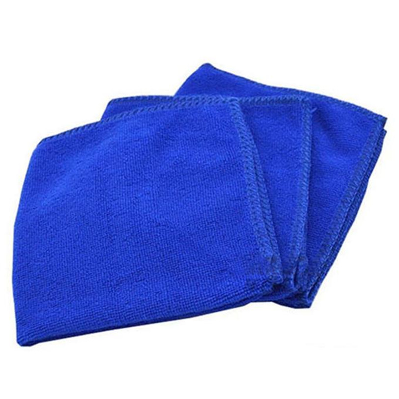 Car Soft Microfiber Cleaning Towel Car Wash Dry Clean Polish Cloth Motorcycle Detailing Care Kitchen Housework Towel ultrafine absorbent towel used to clean the car