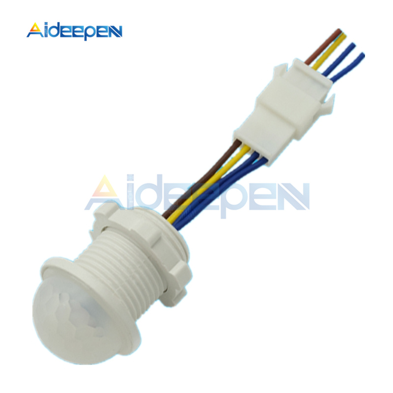 AC 220V 100W Infrared PIR Probe LED Body Motion Sensor Infrared Induction Switch Automatic LED Light Lamp Controller Switch