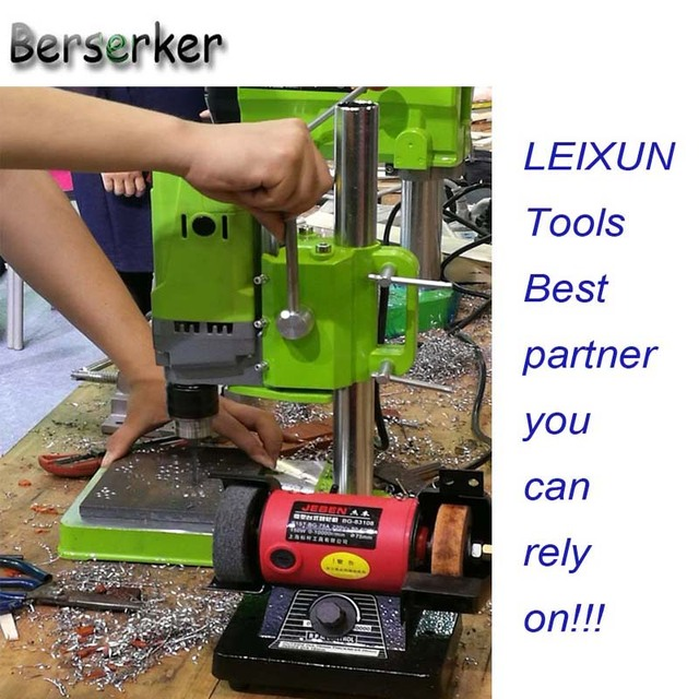 Berserker Mini Bench Drill Power electric drill for drilling Machine Work Bench  220V 710W 13mm 5156E Free Shipping 3