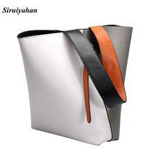Siruiyahan Luxury Women Genuine Leather Bags Women Bags Handbags Women Famous Brands Shoulder Bag Female Bolsa Feminina