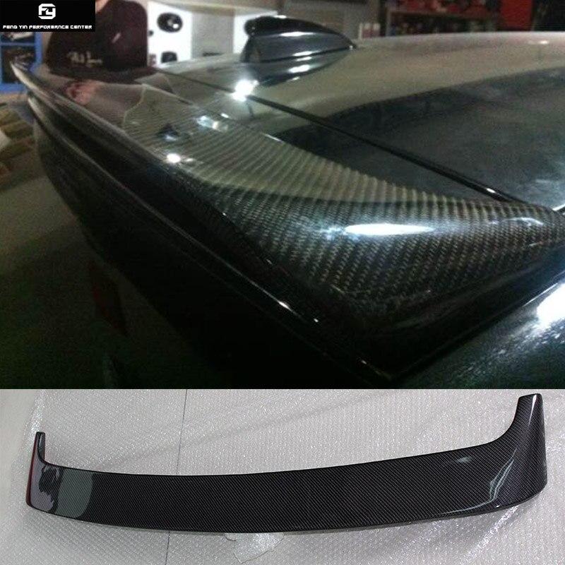 Ailes de toit de becquet arrière Auto en Fiber de carbone E71 X6 pour BMW E71 X6 08-13