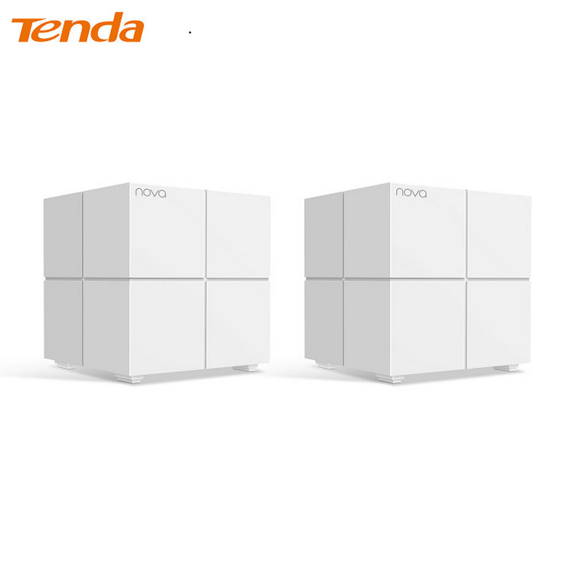 Networking Tenda MW6-2 White router 2 PS long distance 2 4g wireless networking module uart serial transceiver zigbee self organizing intelligent light control