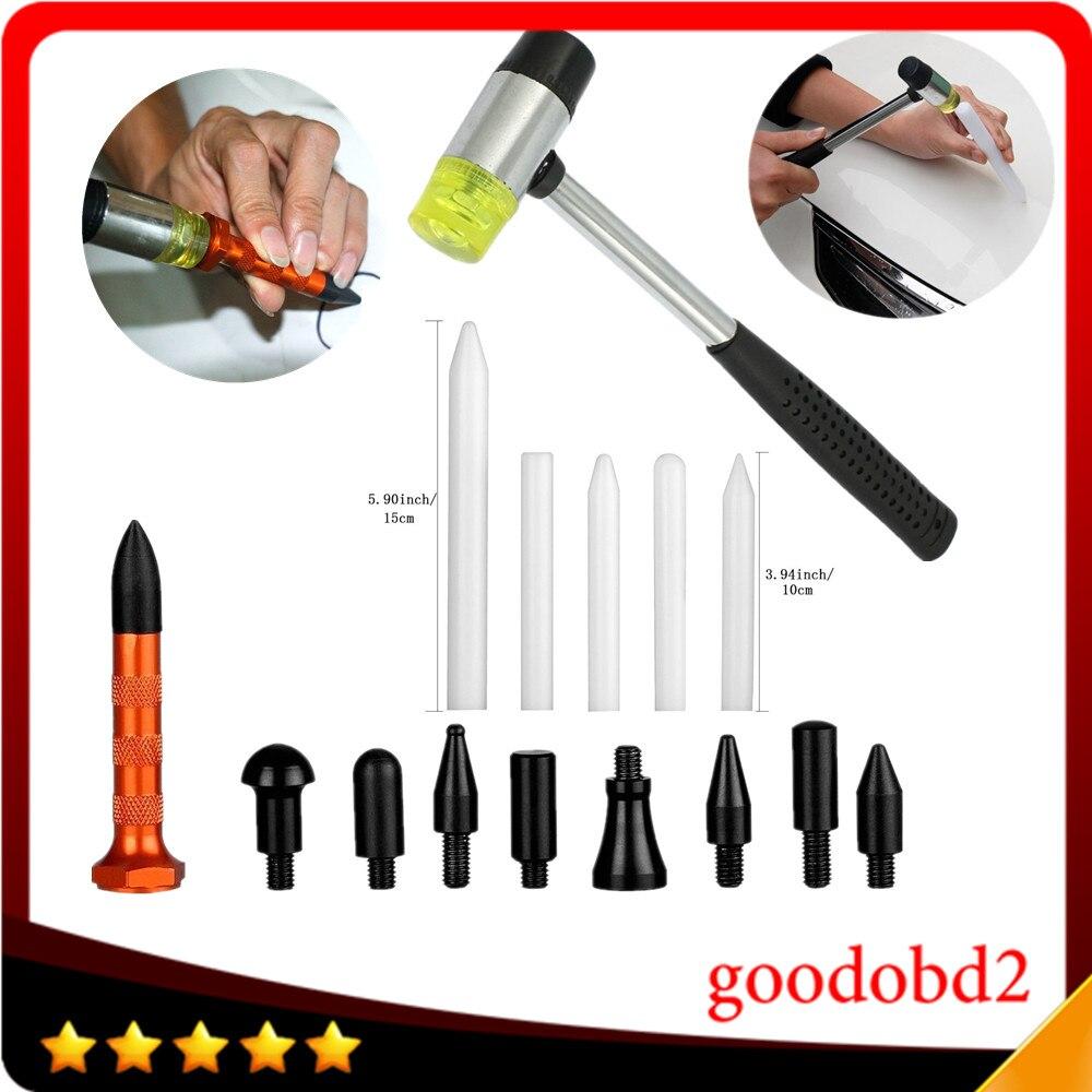 pdr dent derrubar ferramenta kits ferramenta de remocao de dente borracha martelo com 5 pcs pdr