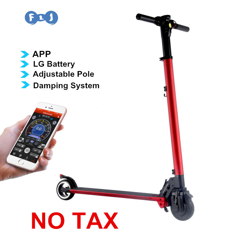 easy folding electric scooter with app lg battery 8kgs. Black Bedroom Furniture Sets. Home Design Ideas